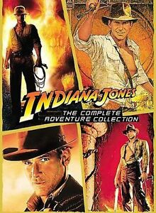 Indiana Jones - The Complete Adventure Collection (DVD, 2008, 5-Disc Set)