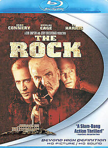 The Rock Blu-ray Disc, 2008 With Sean Connery, Nicholas Cage Ed Harris  - $9.95