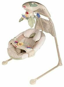 Fisher price nature papasan cradle swing