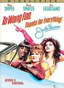 To Wong Foo DVD