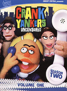 Crank Yankers Uncensored  Season Two Volume One DVD 2005 2Disc Set - Vermont, United States - Crank Yankers Uncensored  Season Two Volume One DVD 2005 2Disc Set - Vermont, United States