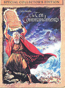 The Ten Commandments DVD 2Disc Set Special Collectors Edition FREE SHIPPING - Chesterton, Indiana, United States - The Ten Commandments DVD 2Disc Set Special Collectors Edition FREE SHIPPING - Chesterton, Indiana, United States