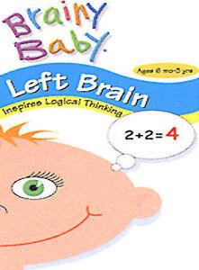 Brainy Baby - Left Brain/Classical Tunes DVD, 2003  - $1.50