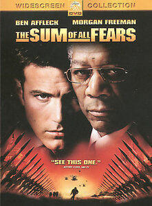 The Sum Of All Fears DVD, 2002 .Excellent Movie Drama Genre. Brand New Sealed  - $3.00