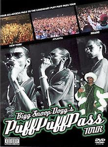 Bigg Snoop Dogg's Puff Puff Pass Tour - New  - DVD