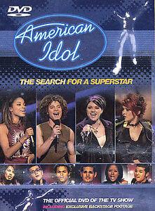 American Idol (Dvd, 2002)