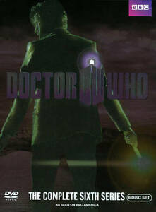 Doctor Who: The Complete Sixth Series (DVD, 6-Disc Set**********