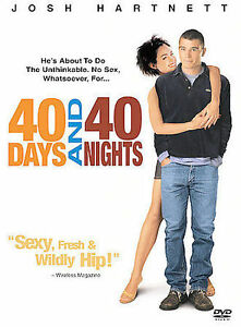 40 Days and 40 Nights (DVD, 2002) GOOD