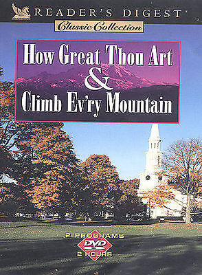 Reader's Digest - How Great Thou Art/Climb Ev'ry Mountain (DVD, 2003)