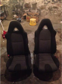 Mazda RX8 seats (Golf,BMW,Polo,Fiesta)