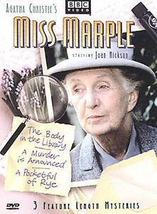 Agatha Christie's Miss Marple BBC Video DVD Set 3 Feature Le