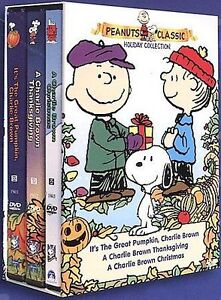 Peanuts - Classic Holiday Collection Gift Set DVD, 2000, 3-Disc Set  - $9.00