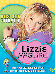 Lizzie McGuire Box Set: Volume One  4 DVDs  22 Episodes  w/Outer Box   LIKE NEW