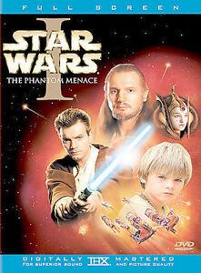 Star Wars Episode I The Phantom Menace DVD, 2-Disc Set, Full Frame  - $2.00