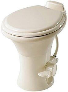 RV Dometic Sealand 302310073 RV Camper China Toilet Bone Model 310 High Profile