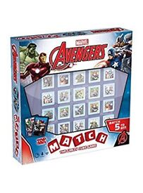 Avengers matching cube game