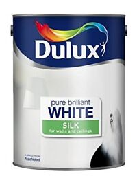 Two tins of Dulux 5 Litre Paint silk