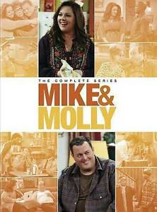 Mike and Molly: The Complete Series Collection - Seasons 1-6 (DVD, 2016)