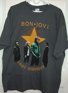 Bon Jovi NJ Concert DVD and 2 Double Sided Tee Shirts Set London Ontario image 3