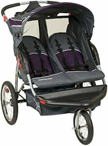 Baby Trend Double Jogging Stroller Double Jogger with speakers