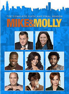 MIKE & MOLLY: The Complete Sixth Season 6 (DVD Boxed Set, 2016) ~ NEW