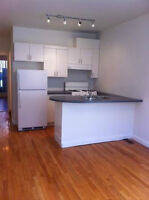 Prime location, spacious 1bdr w/walkout to fenced yard, parking!