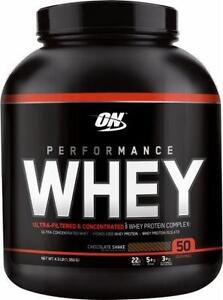 OPTIMUM NUTRITION ON PERFORMANCE WHEY PROTEINE 4.3 LBS - 50 SERVINGS - 50 PORTIONS