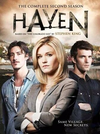 Haven Season 1 + 2 DVD together for R150