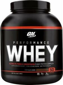 OPTIMUM NUTRITION ON PERFORMANCE WHEY PROTEINE 4.3LB - 50 SERVINGS - 50 PORTIONS