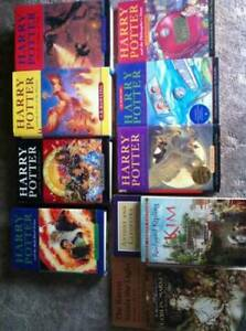 harry potter series, shakespeare, rudyard kipling and more