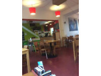 Cafe premises TO LET. Short-term (6 months rolling). Prime city centre location.