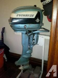 1956 evinrude 5.5hp fisherman outboard