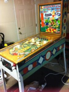 OLD GOTTLIEB WOODRAIL PINBALL MACHINES WANTED
