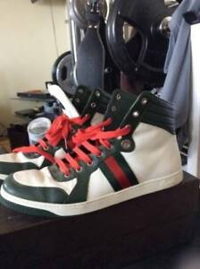 Mens authentic Gucci sneakers shoes G 10 / US 11