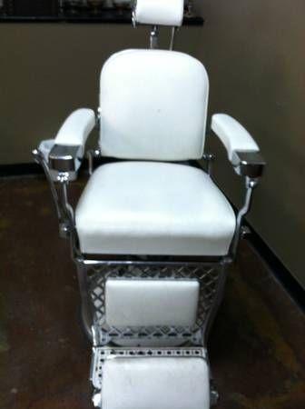 Emil J Paidar Barber Chair Ebay