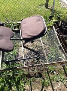 Ergo kneeling , patio and camping chairs for free or trade