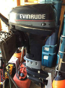 Used 1996 Evinrude 9.9 HP 2 Stroke Longshaft