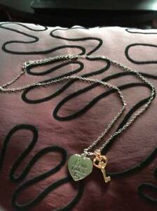 Love Holds The Key necklace