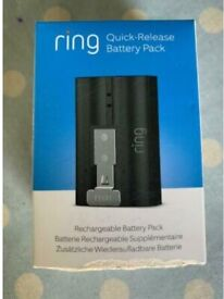 Ring Rechargeable Battery Pack