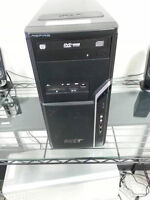Acer Aspire AM1610 Desktop Computer With Windows 7