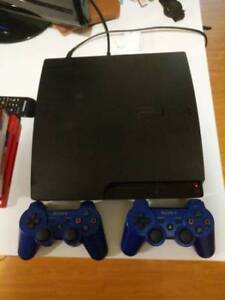 selling PS3 Bundle w/ 2 controllers and 7 games