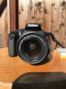 Canon EOS Rebel T3i lens included