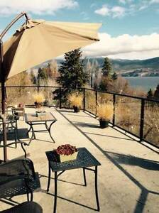 Executive Furnished 3bdrm Upper Level in Summerland Amazing view