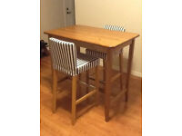 Ikea LEKSVIK Bar Table Only For Sale Good Condition