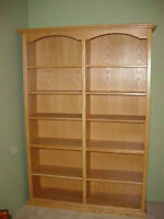custom made bookcase from $175 -