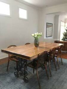 Historic harvest table for sale