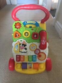 VTECH baby walker good condicton smoke and pet free home