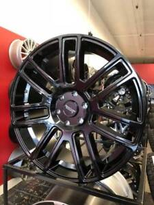 """22"""" AMERICAN RACING RIMS & TIRES FOR FORD F150 6X135! WITH TIRES"""