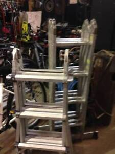Foldable Ladders 4 Sale $75 each & LOTS OF TOOLS FOR SALE
