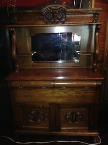 Gorgeous Lions Head Buffet/Dining Room Set
